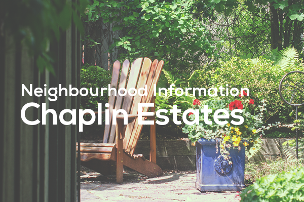 Chaplin Estates Neighbourhood Information from Jethro Seymour
