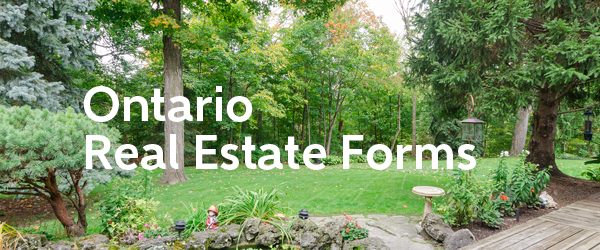 Ontario Real Estate Forms  from Jethro Seymour, one of the top Davisville Real Estate Brokers