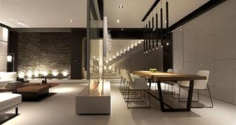 Interior Design Idea: Use a glass wall to divide the space | Jethro Seymour, Toronto Real Estate Broker