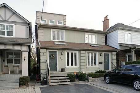 29 Taunton Road, Front View, Davisville Village semi sold by top Realtor Jethro Seymour